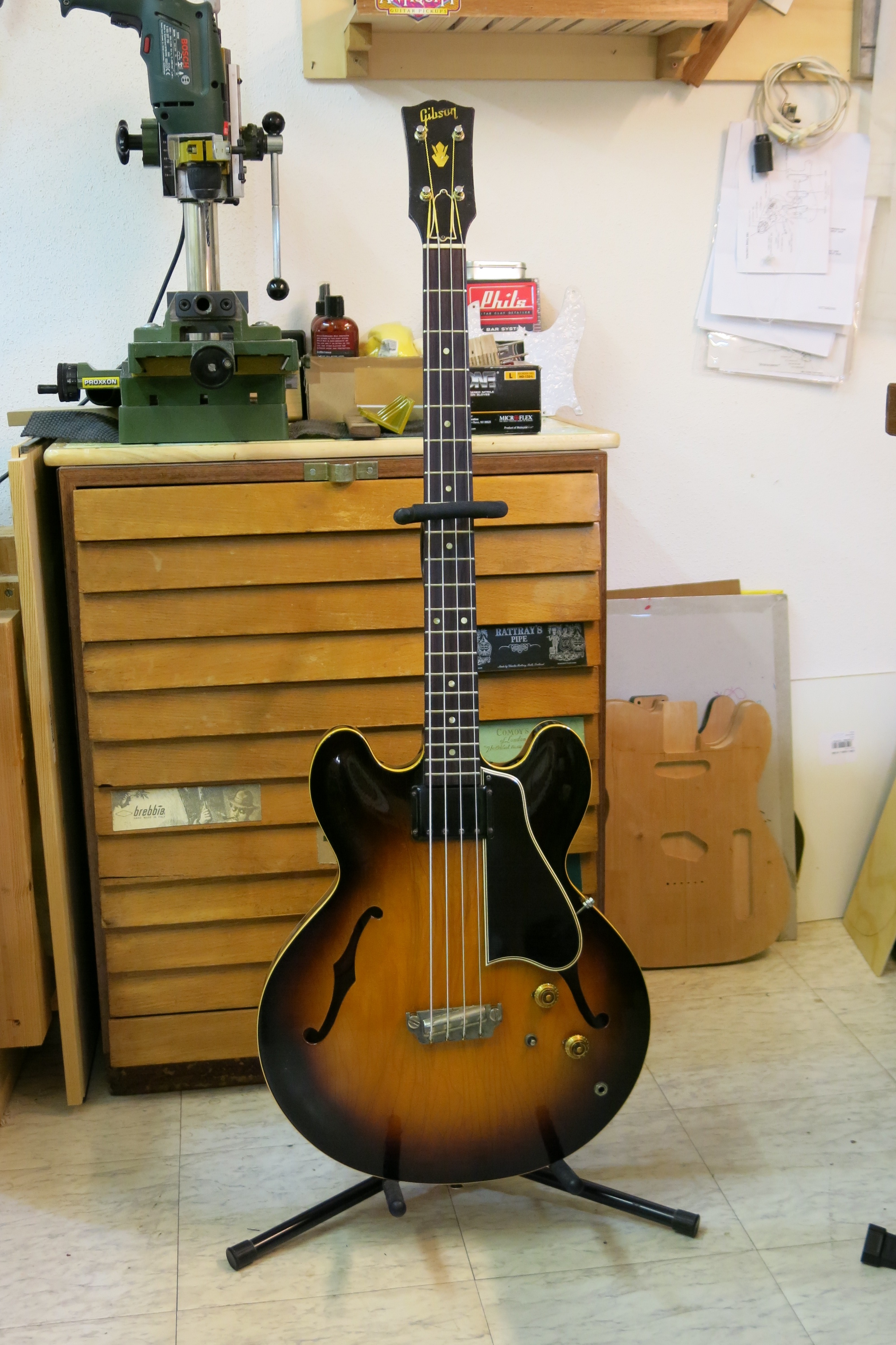 Basse Gibson EB2 1959