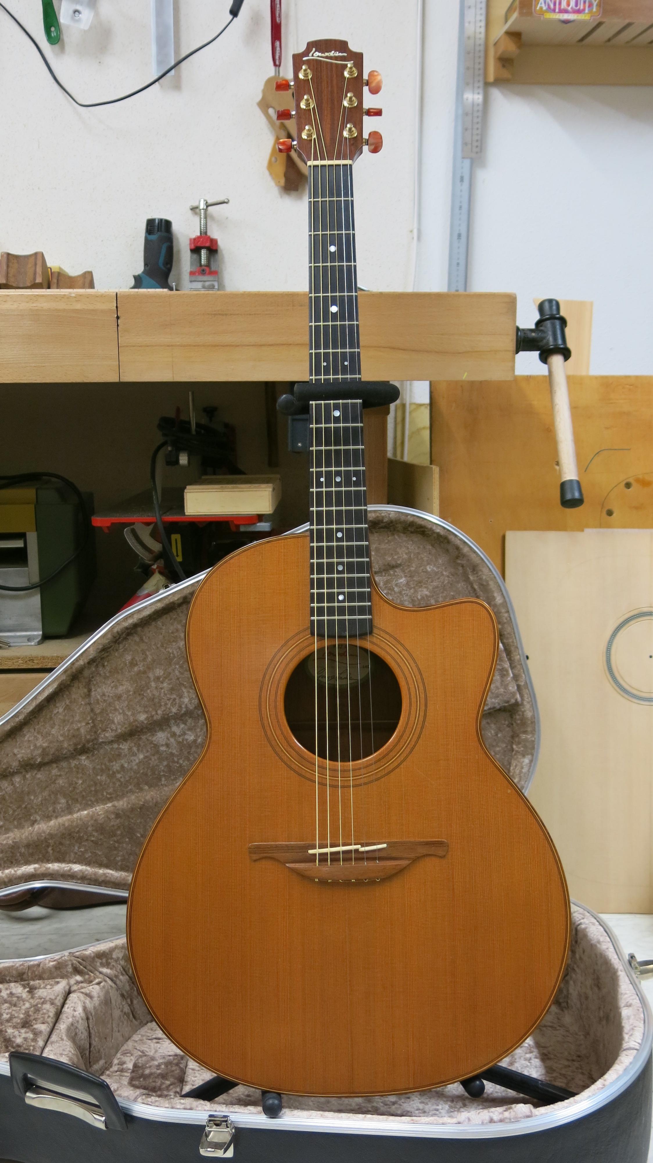 Guitare folk Lowden F22C occasion