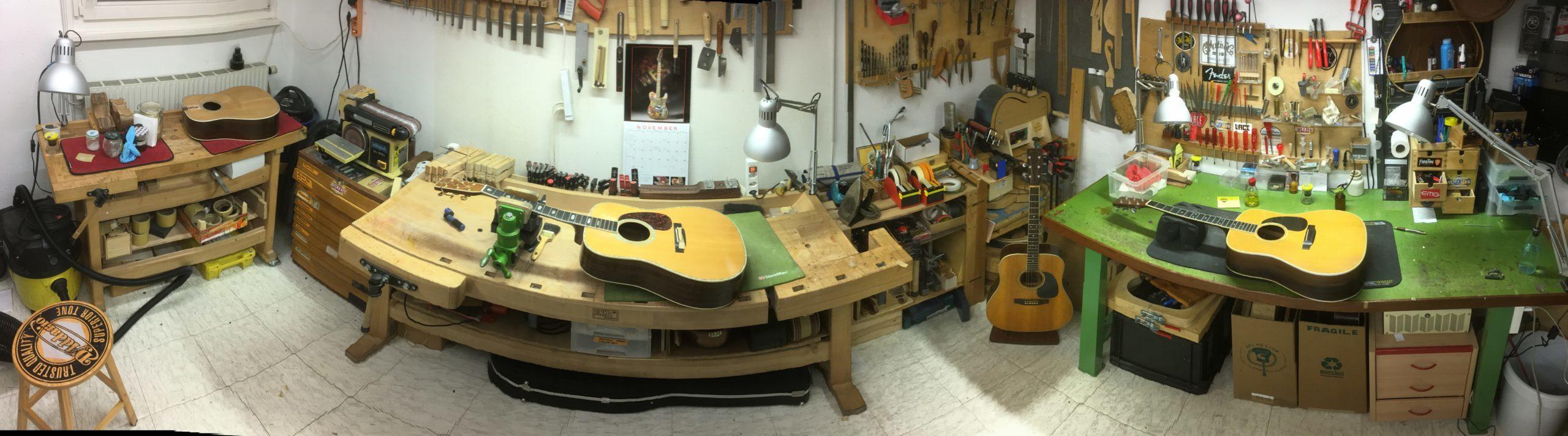 Réparation guitares Martin