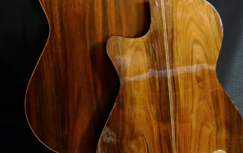 Réparation guitare classique changement dos
