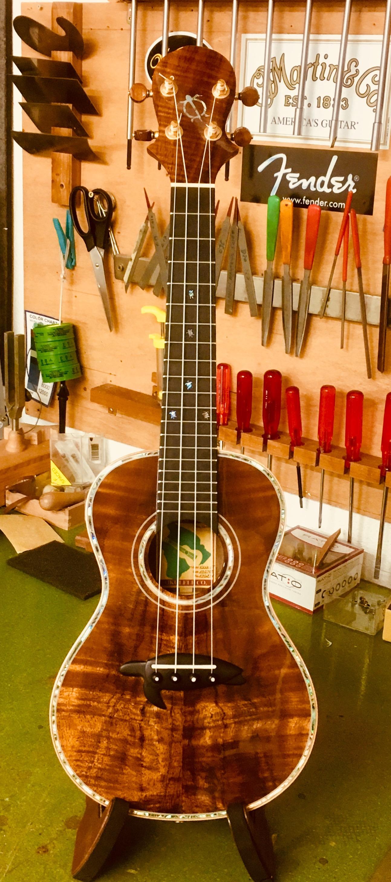 Luthier en guitares, mais pas que …