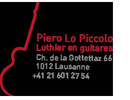 Luthier à Lausanne